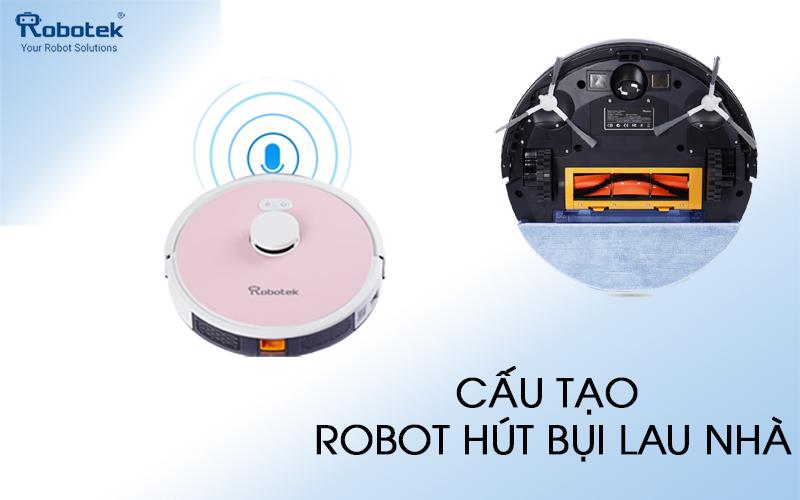 Robot Hút Bụi Lau Nhà Nhập Khẩu Chính Hãng 100%